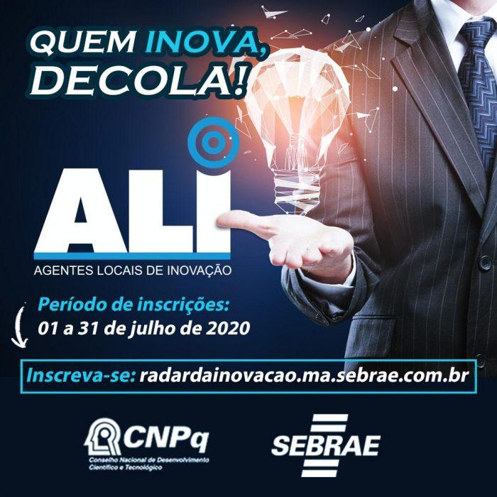 Sebrae oferece 200 vagas para empresas em projeto gratuito de inovação